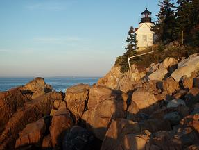 Sunrise at Bass Harbor Light House, Acadia NP