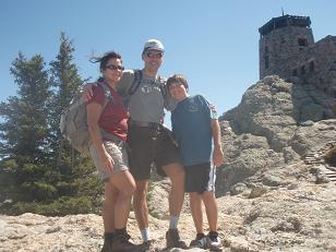 At 7250 ft above the Black Hills Forest
