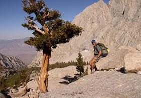 Hiking the High Sierra, California