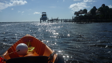 Inlet Kayaking in South-East Florida