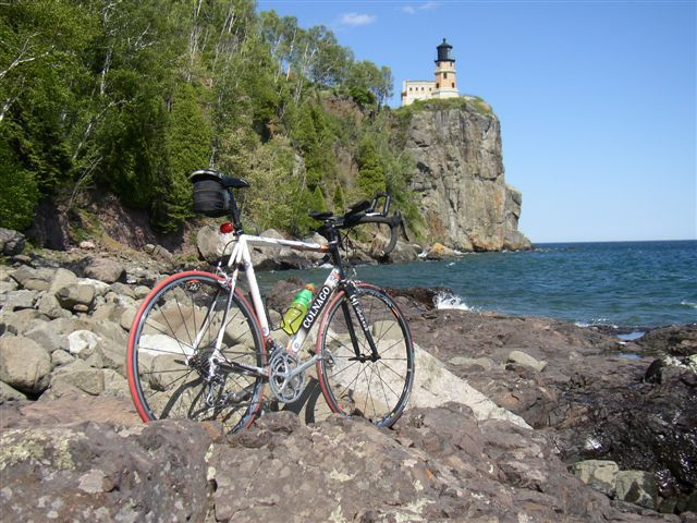 Superior Bike at Lake Superior