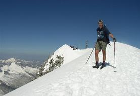 Summit of Grossvenediger in ideal conditions.