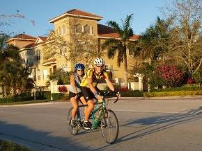 Tandem Evening Ride in Florida