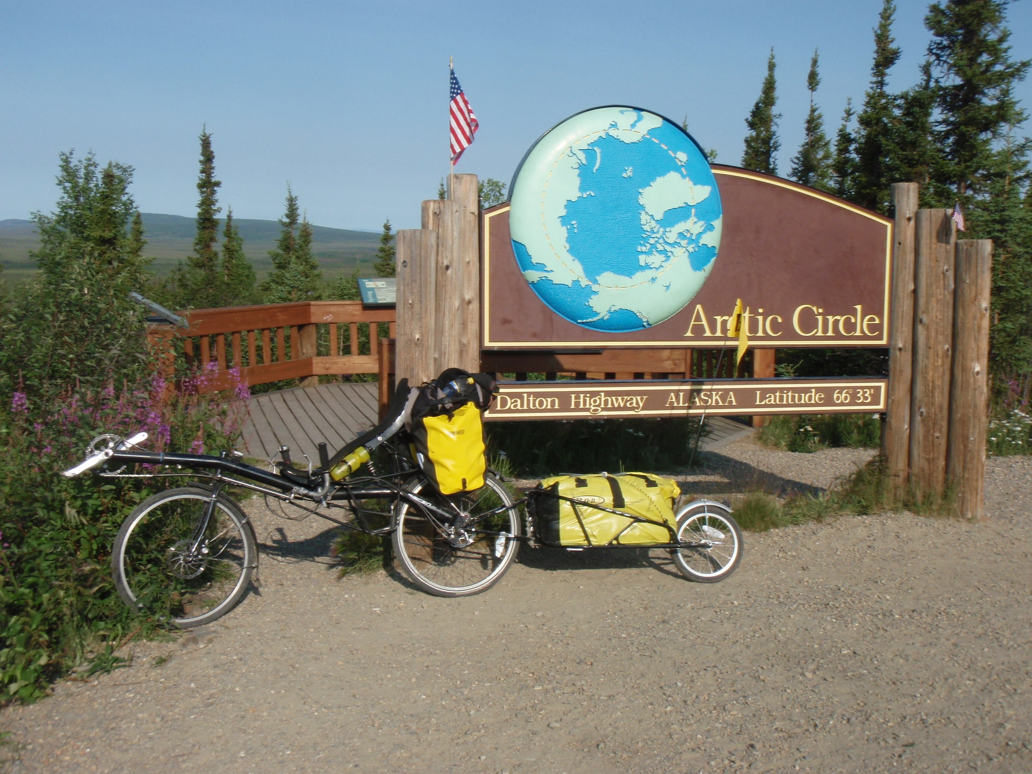 At Arctic Circle