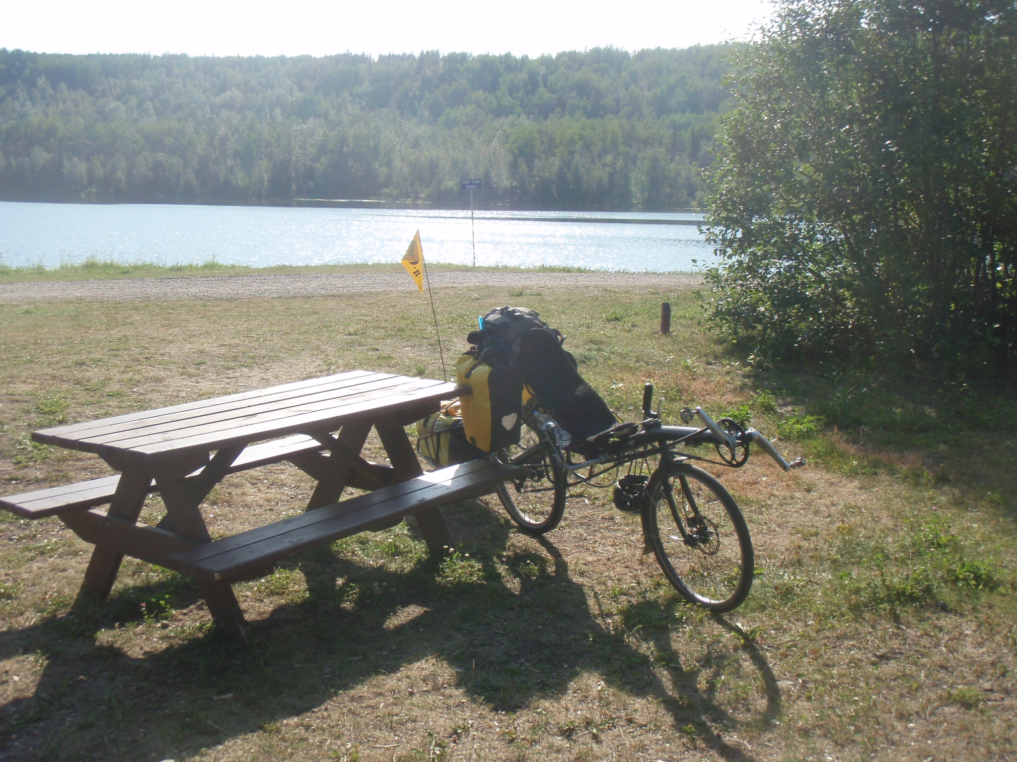 At Cameron Lake between Hudson's Hope and Chetwynd