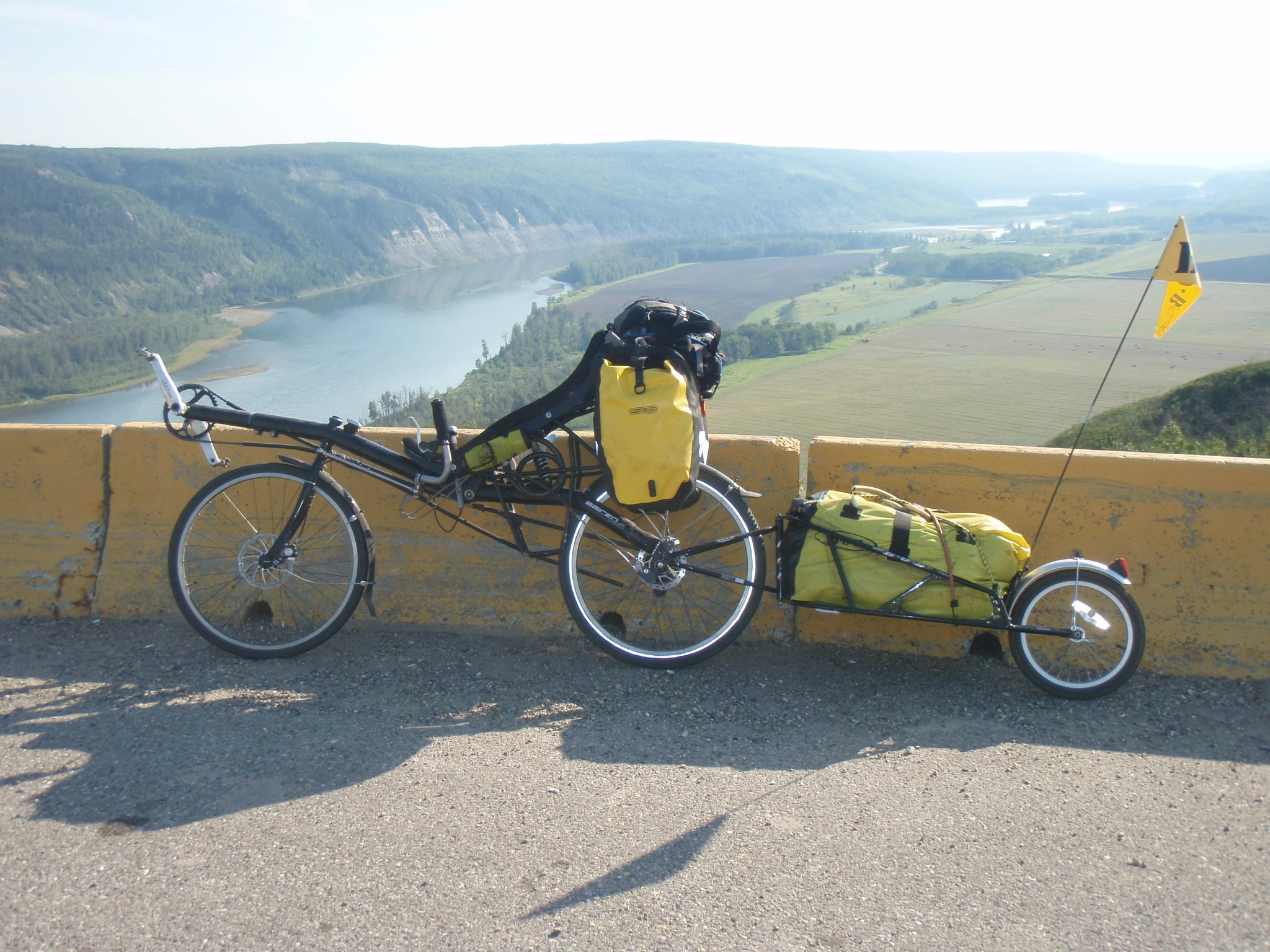 At the Peace River Overlook