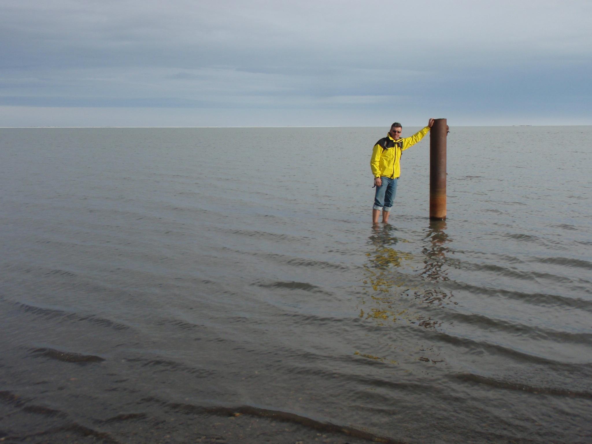Standing in the Arctic Ocean