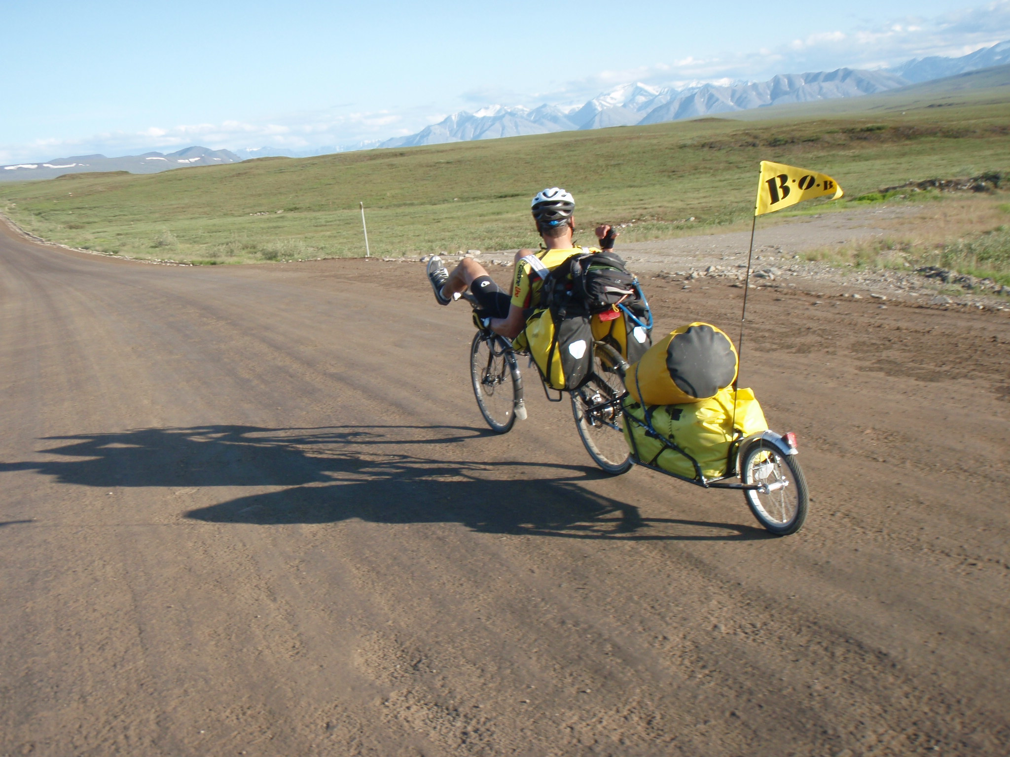 Start of the long journey North of the Brooks Range, Alaska