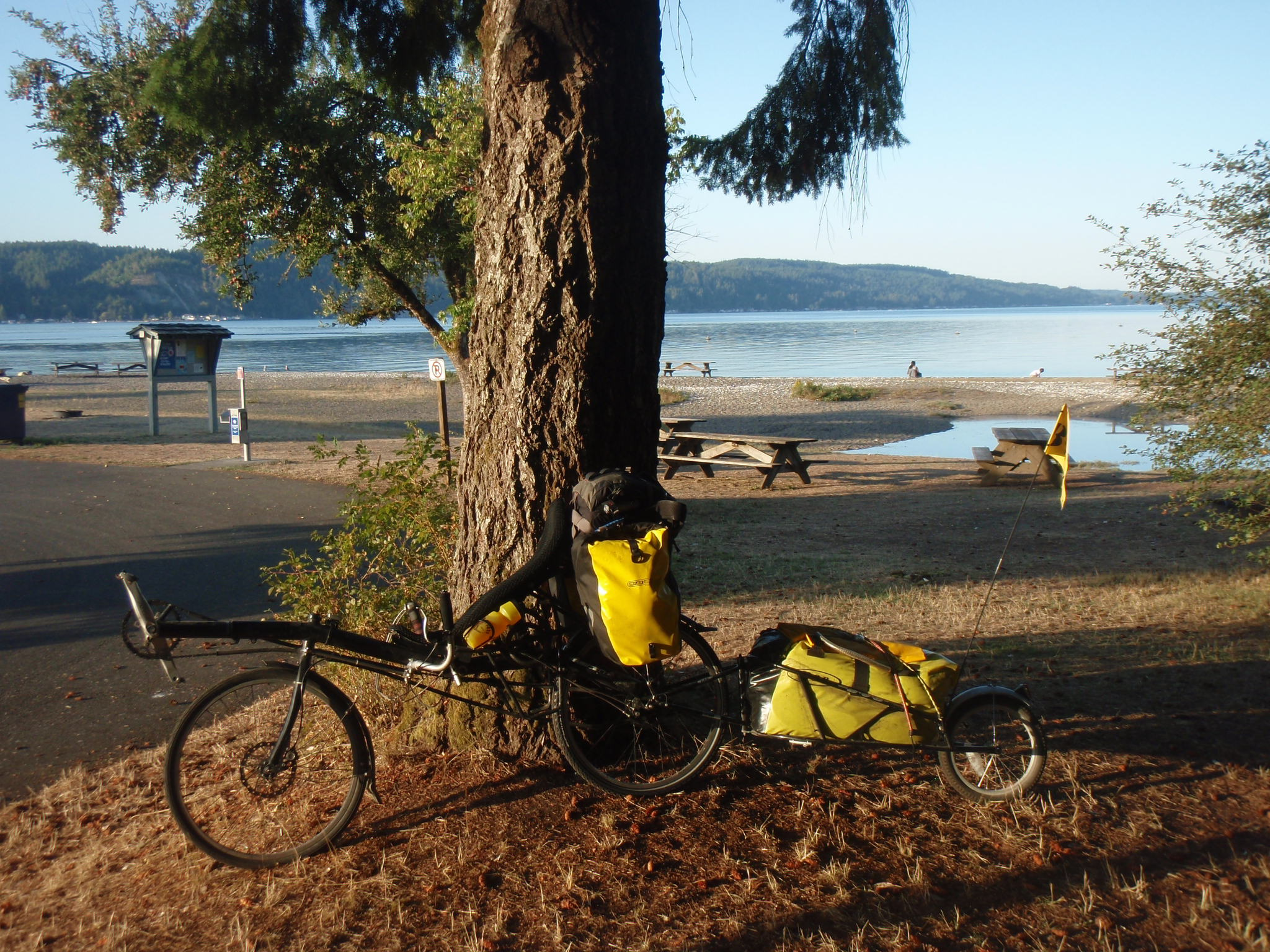 One of the many WA State Parks (here at Hood Canal)