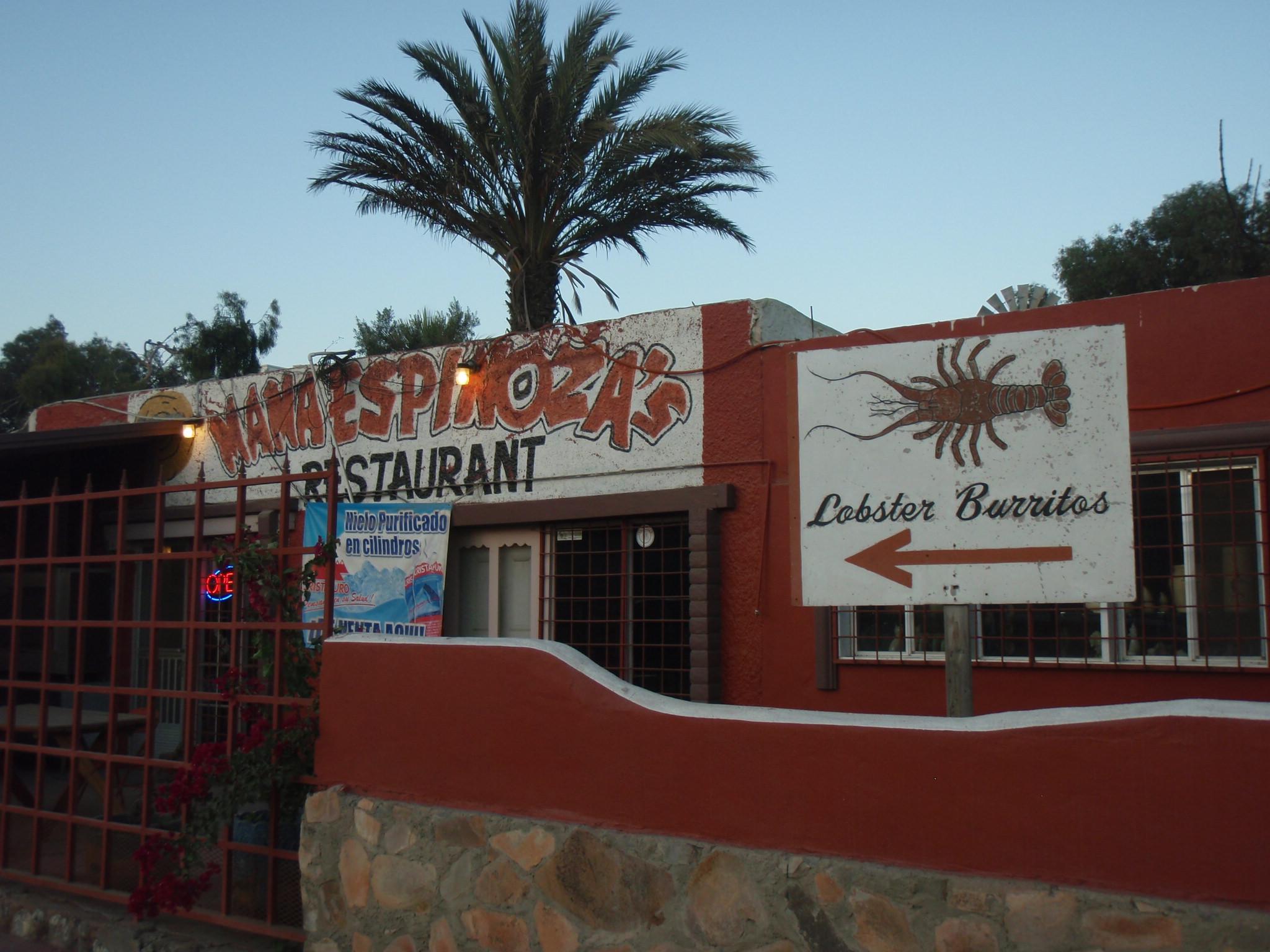 Famous Mama Espinoza Restaurant in El Rosario