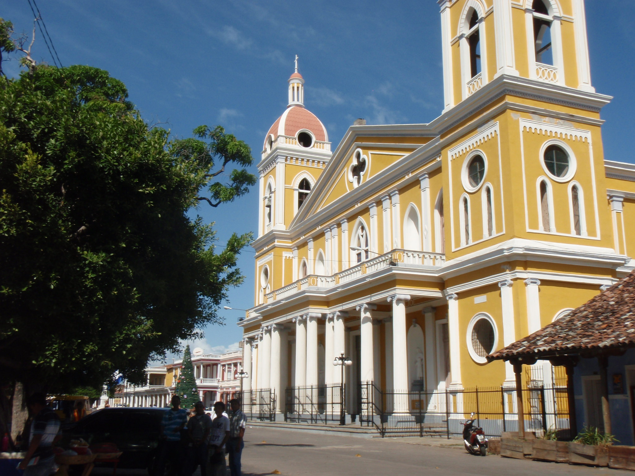 Cathedral in Granada, Nicaragua