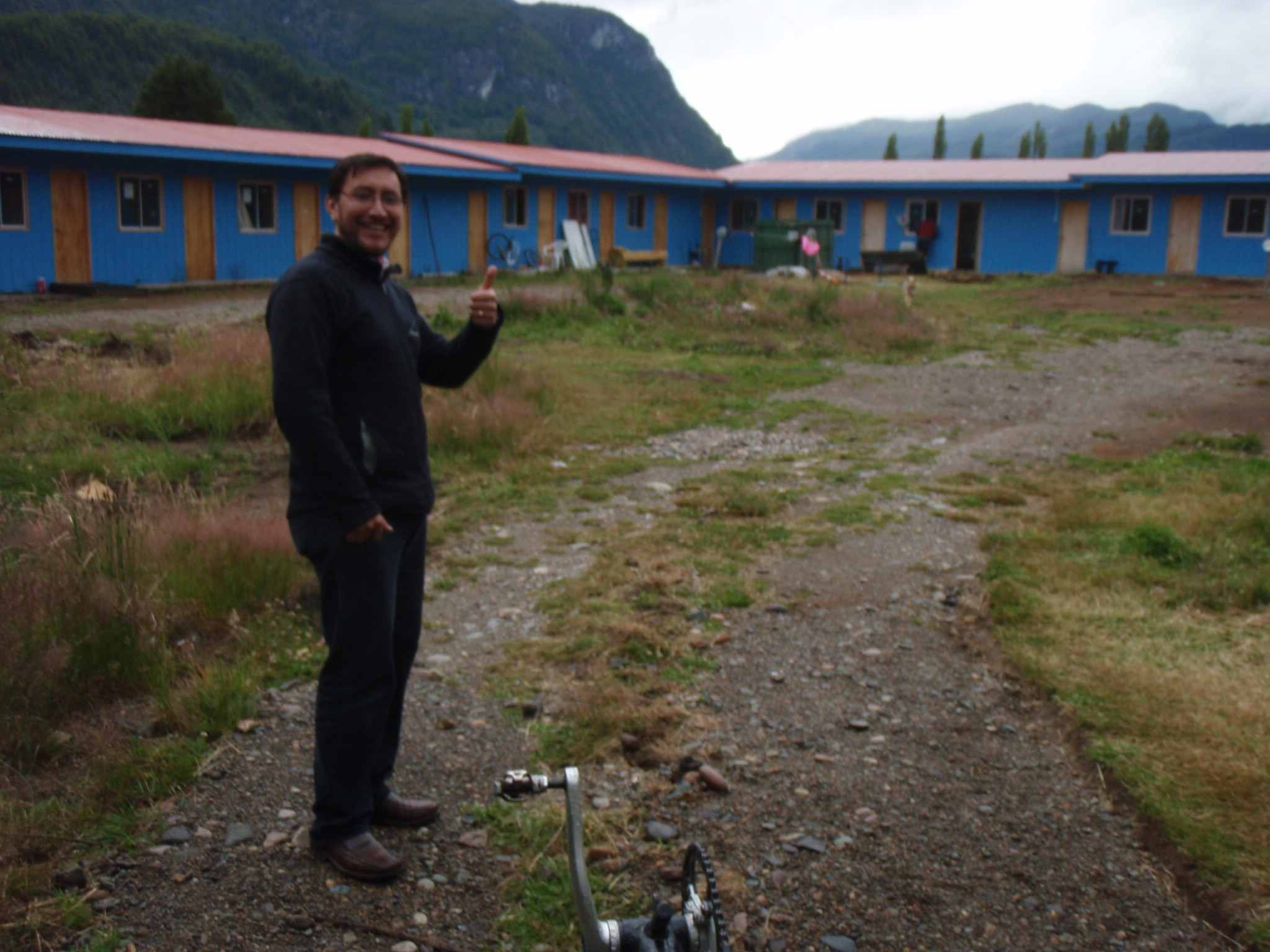 Friendly Chilean cyclist aficionado Jorge and his casa de ciclista