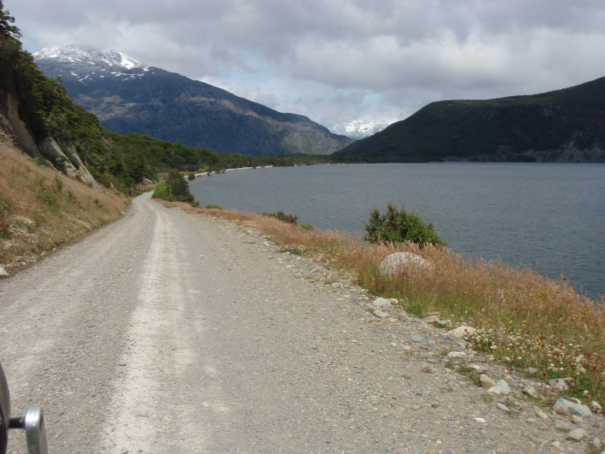 Carreterra Austral - a gravel road along lakes and lonely valleys
