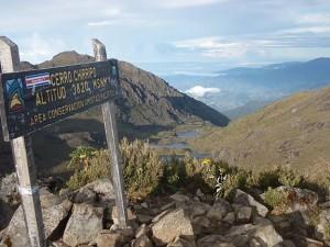 View from Summit of Chirripo Grande