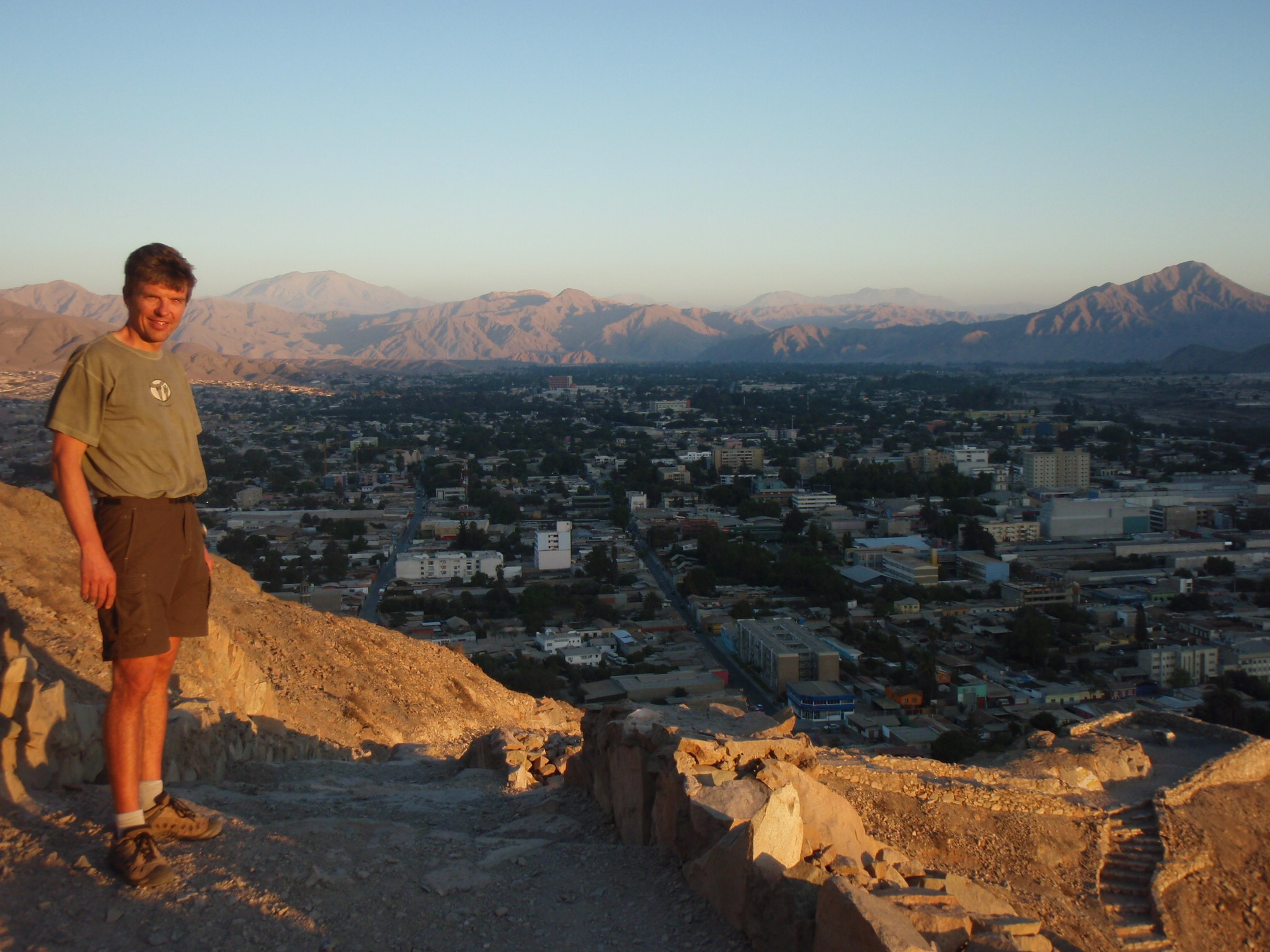 Overlooking Copiapo, a mining town in Northern Chile