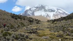 Nevado Sajama - approach to base camp