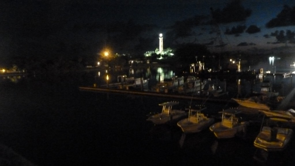 Jupiter Light House in the pre-dawn hours