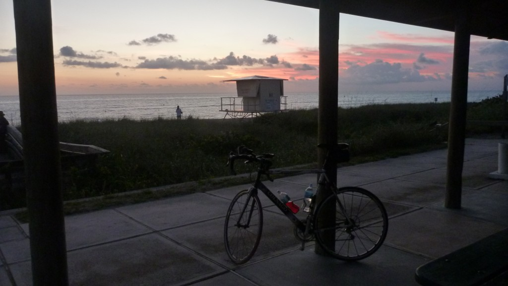 Pre-Sunrise at Beach in Hobe Sound