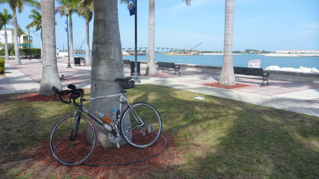 Resting at a Park in Ft. Pierce