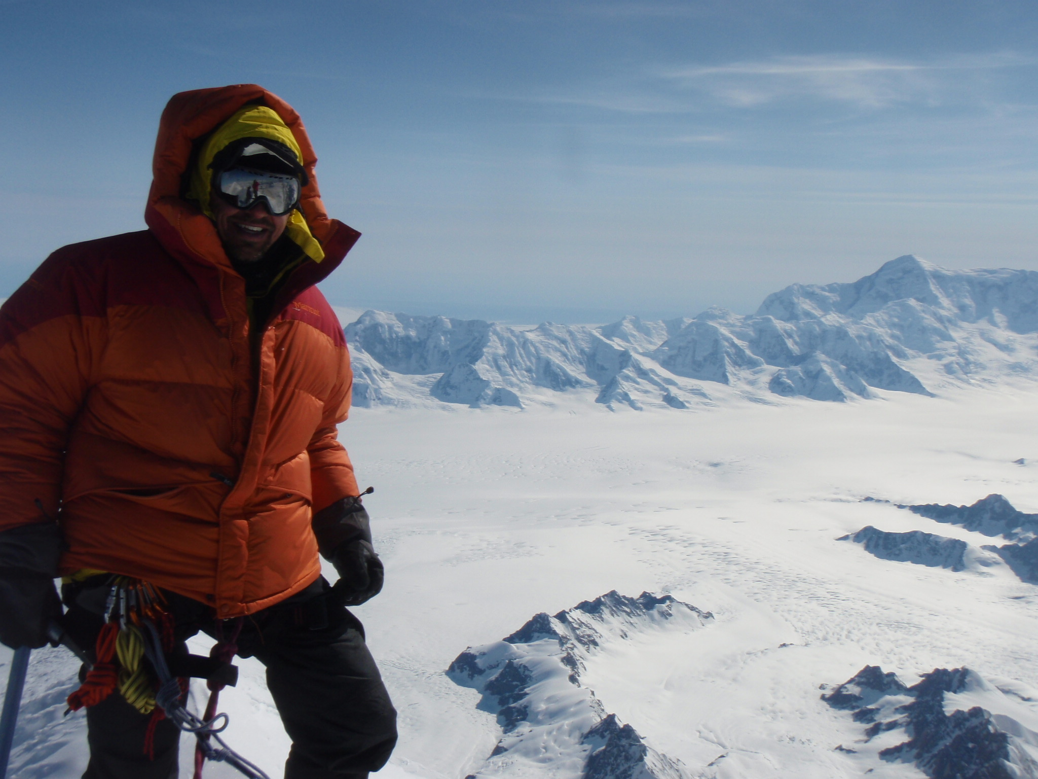 On Summit of Mount Logan at 5959m