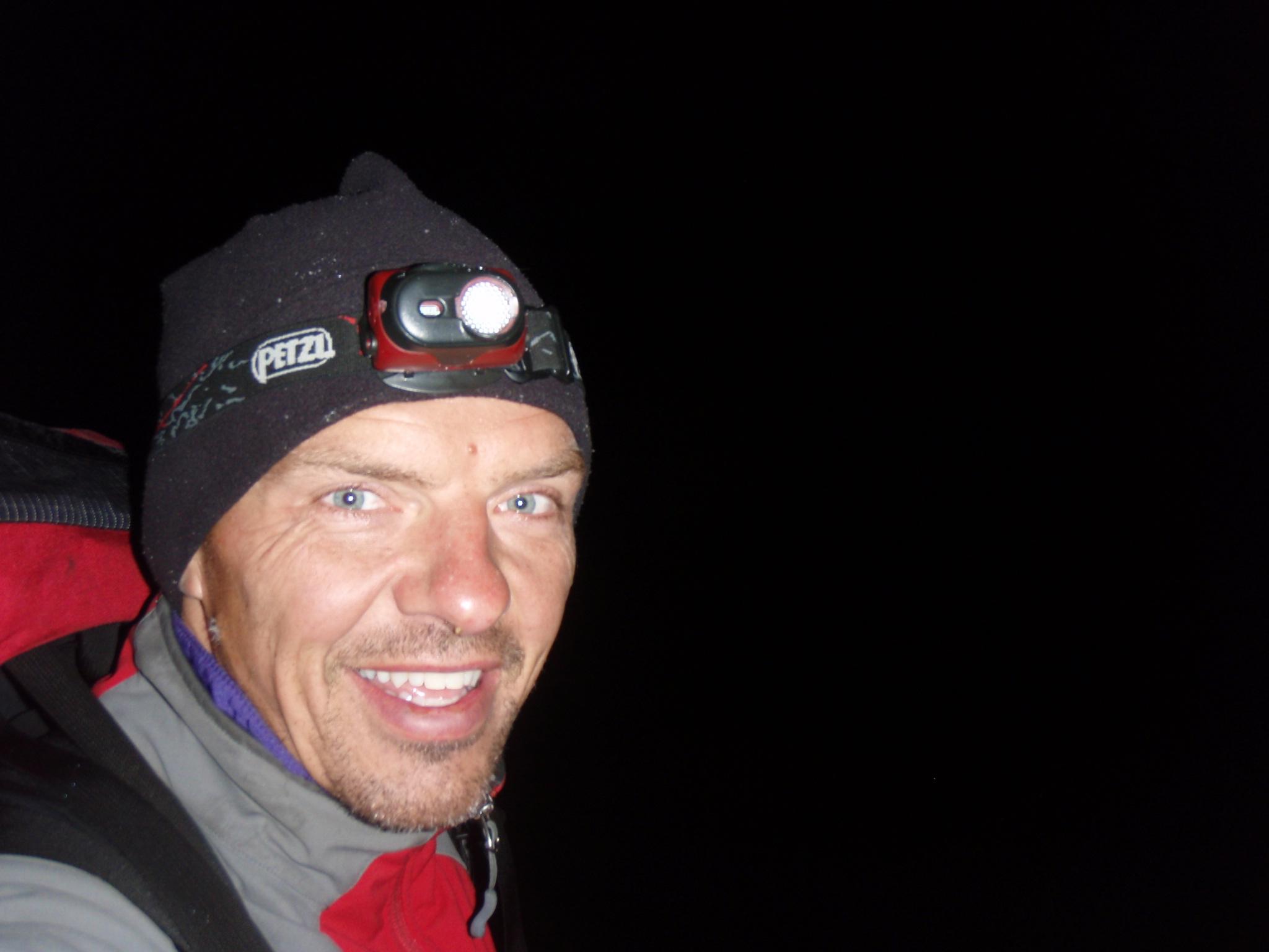 Predawn start at 4:00am from the Piedra Grande hut